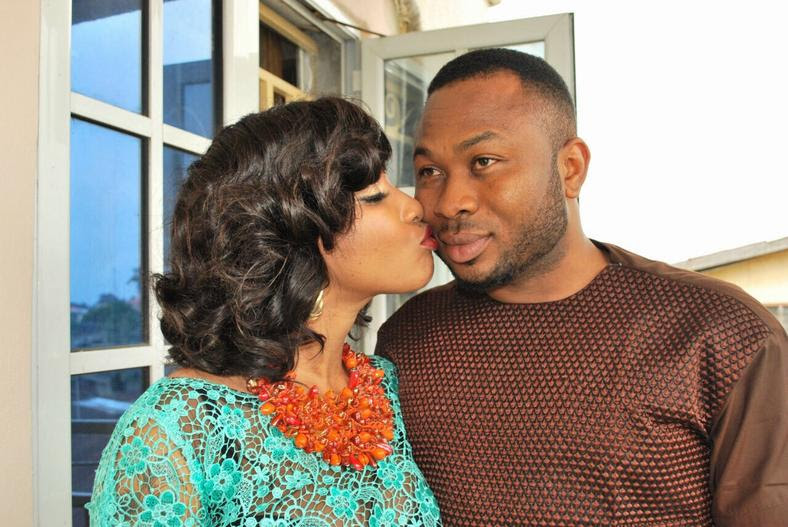 We bet this won't be the last of the frosty relationship between Tonto Dikeh and her ex-husband, Churchill Olakunle [Ghafla]