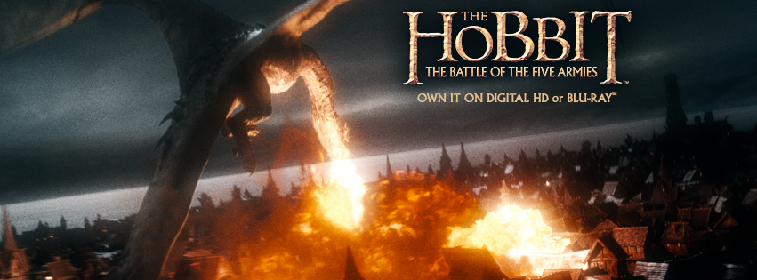 The Hobbit the Battle of the Five Armies Blu-ray giveaway (ends 4/10/15)