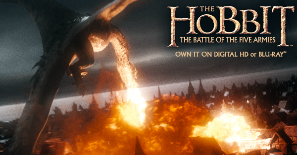 The Hobbit: The Battle of the Five Armies BluRay #Giveaway