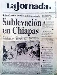 """Àna🍃 on Twitter: """"De Reforma notas y portada #EZLN26años… """""""