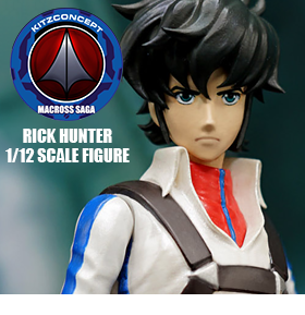 MACROSS RICK HUNTER 1/12 SCALE FIGURE