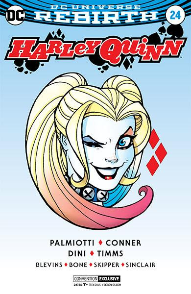 Harley Quinn 24 Convention Exclusive