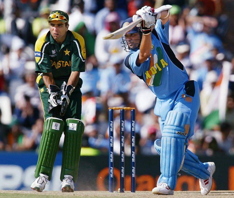 Sachin Tendulkar was the first cricketer to aggregate 600+ runs in one World Cup