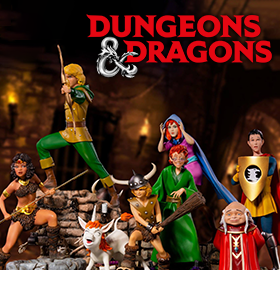 DUNGEONS & DRAGONS BATTLE DIORAMA SERIES 1/10 ART SCALE STATUES