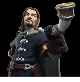 THE LORD OF THE RINGS MINI EPICS BOROMIR FIGURE