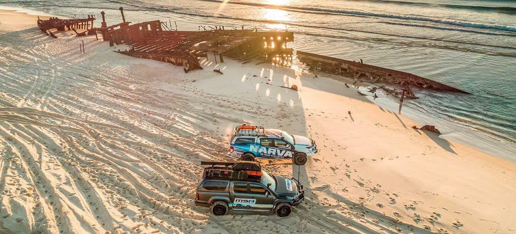 Best beach drives in Australia for 4x4