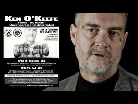 Ken O'Keefe Speaking in Toronto (April 28 & 29) - Promo Video  Hqdefault