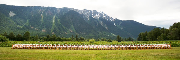 Araxi Longtable Dinner - Pemberton at North Arm Farm