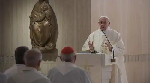 El Papa anima a buscar la paciencia y niega que sea resignación o derrota