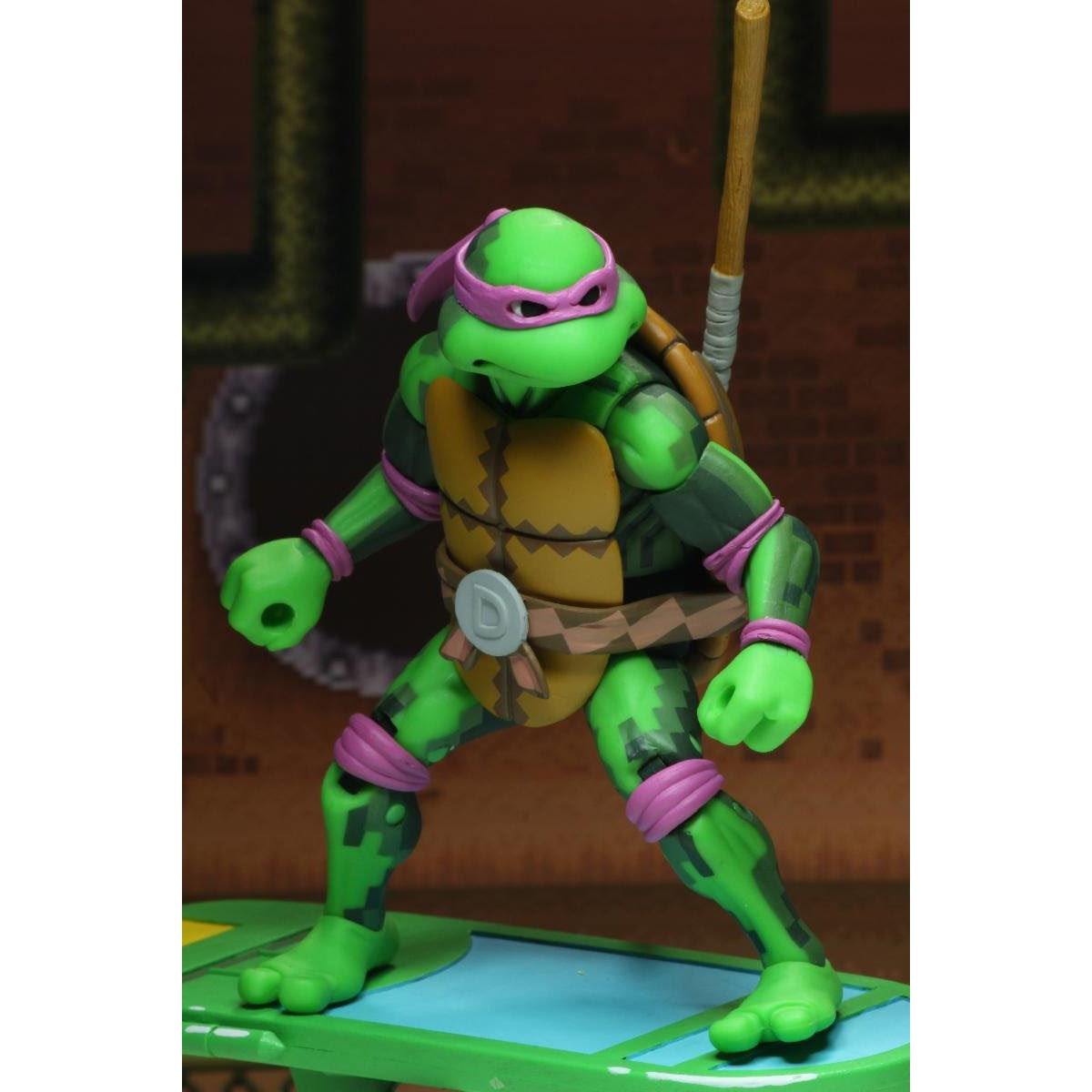 """Image of TMNT: Turtles in Time - 7"""" Scale Action Figures - Donatello - BACKORDERED APRIL 2020"""