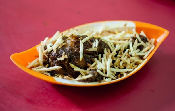 Chicken Sali