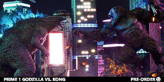 Godzilla vs. Kong Final Battle Statue