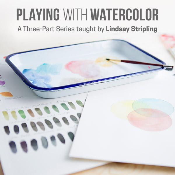 New Watercolor Classes Have Ar...