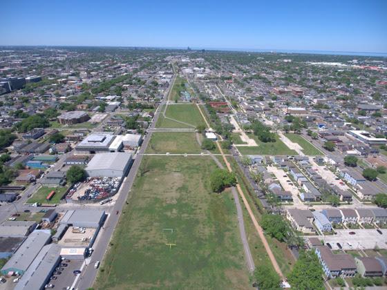 Lafitte Greenway Aerial