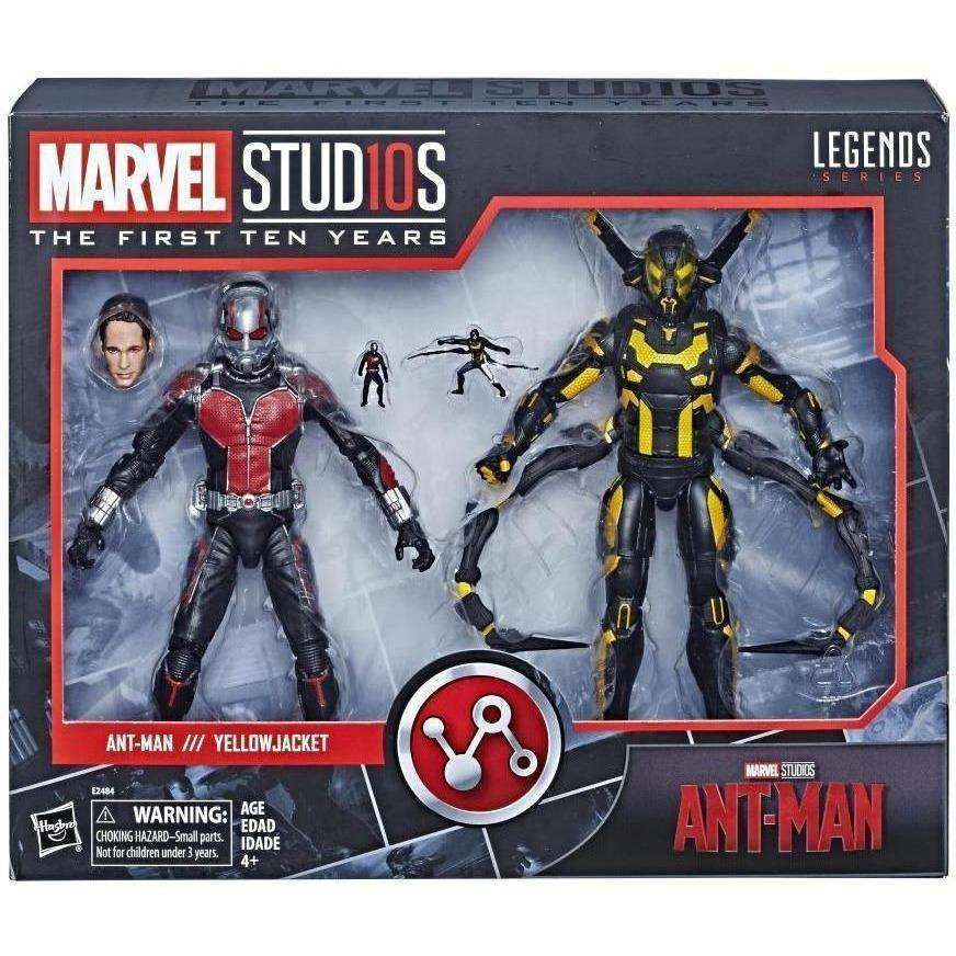 Image of Marvel Studios: The First Ten Years - Marvel Legends Ant-Man and Yellowjacket 2-Pack