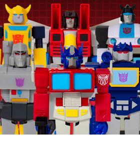 TRANSFORMERS REACTION FIGURES