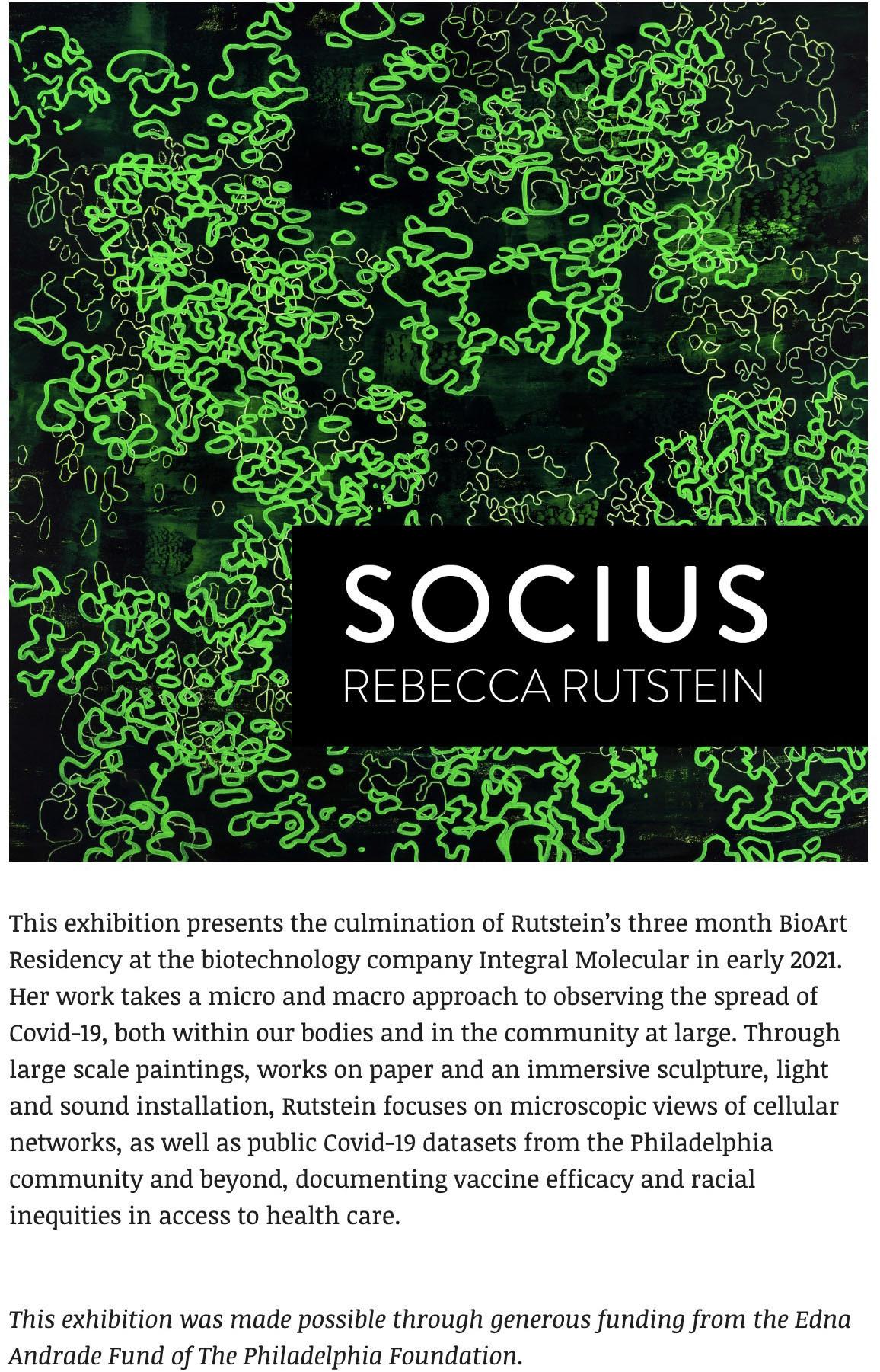 Socius exhibition