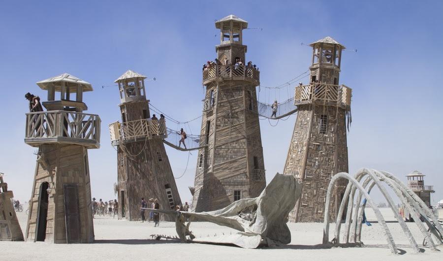 Is Burning Man o Movimento Cultural Maior de nosso tempo?
