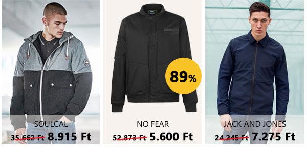 dzseki és kabát leárazás Strops.hu