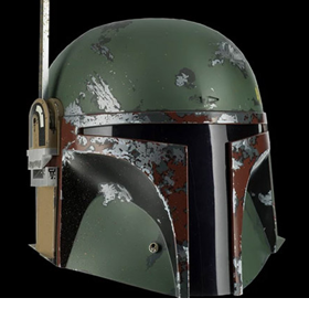 Star Wars Boba Fett (Empire Strikes Back) 1:1 Scale Precision Crafted Replica Helmet