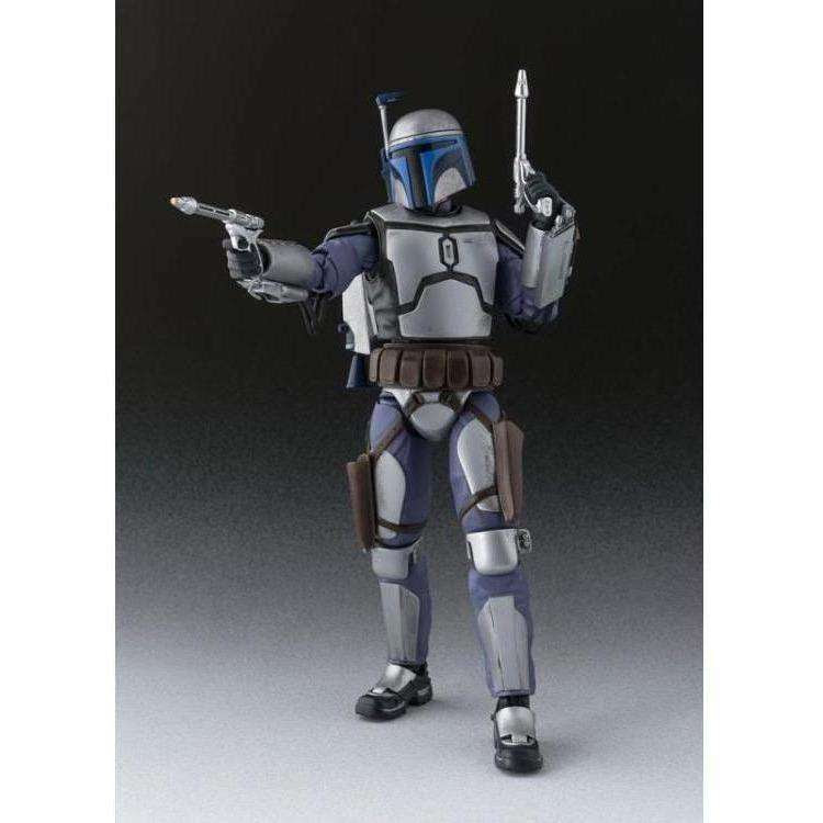 Image of Star Wars S.H.Figuarts Jango Fett (Attack of the Clones) Action Figure