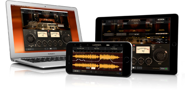 Lurssen Mastering Console for Mac/PC and iPhone/iPad