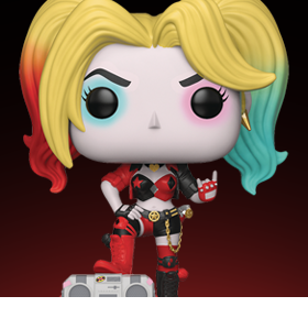 Pop! Heroes: Harley Quinn (Boombox) PX Previews Exclusive
