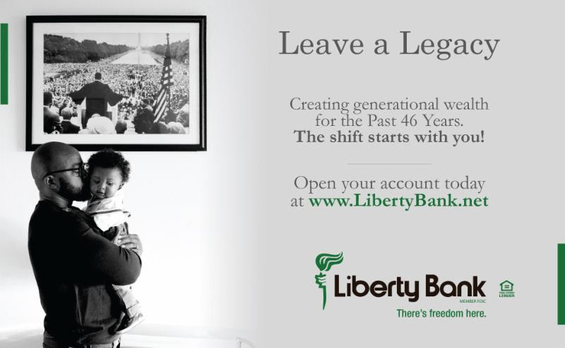 Liberty Bank - Leave a Legacy