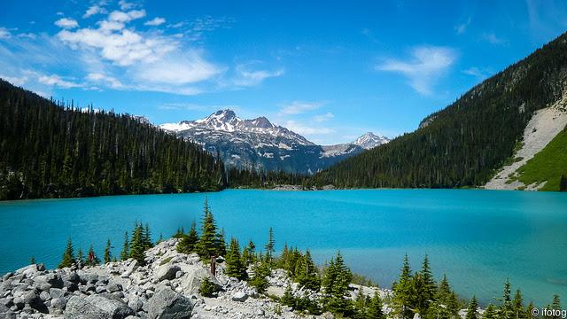 summer holidays at  Whistler, Canada