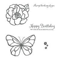 Beautiful Day Cling-Mount Stamp Set