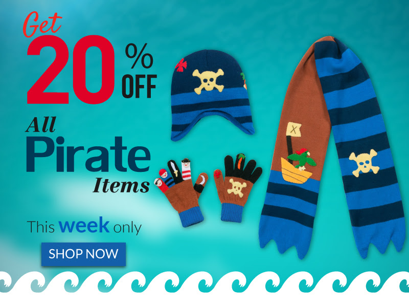Kidorable: 20% off Pirate Coll...