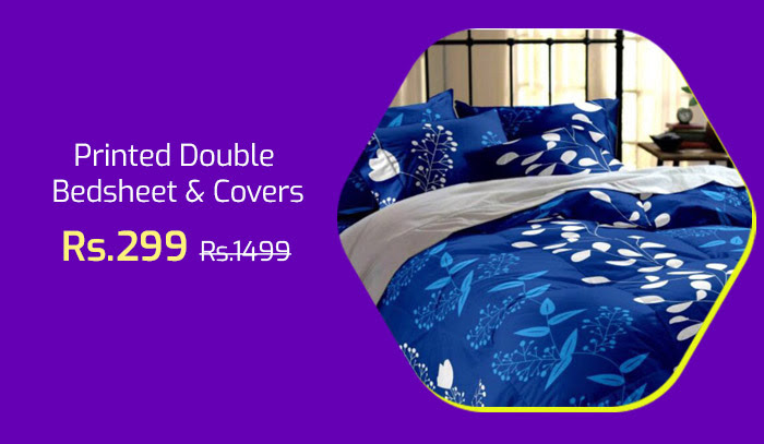 Double Bedsheet and Covers