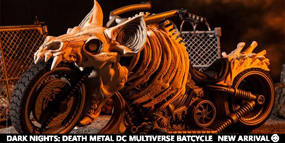 Dark Nights: Death Metal DC Multiverse Batcycle
