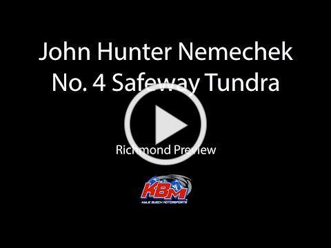 John Hunter Nemechek   Richmond Preview