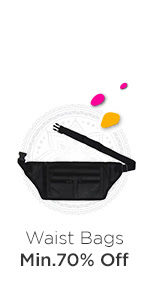 Carry lots of ammunition - Waist Bags at Min.70% Off