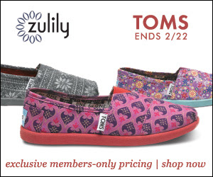Zulily Womens Toms Shoes