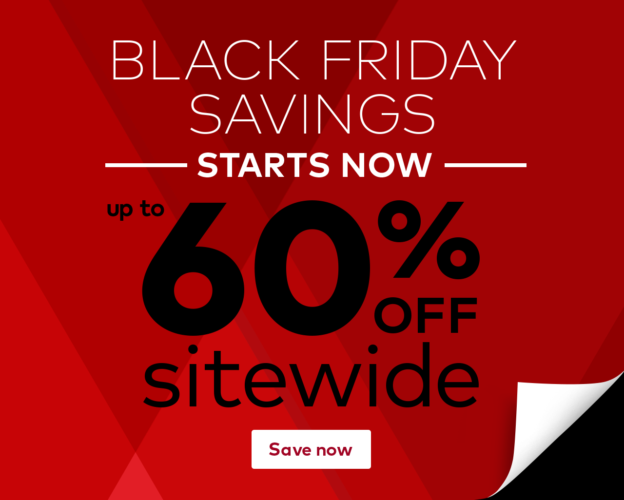 Black Friday up to 60% off sitewide at Vistaprint.