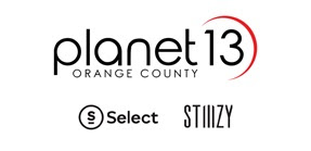 Planet 13 Adds Select and STIIIZY at Orange County SuperStore