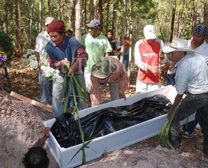 En los últimos tres meses la comunidad indígenas tolupán ha sido víctima de actos violentos.