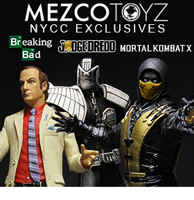 MEZCO NYCC EXCLUSIVES