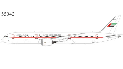 NG55042 | NG Model 1:400 | Boeing 787-9 United Arab Emirates A6-PFE | is due: July 2020