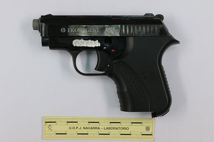 Seized pistol sold via the Darkent