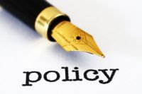 written policy picture