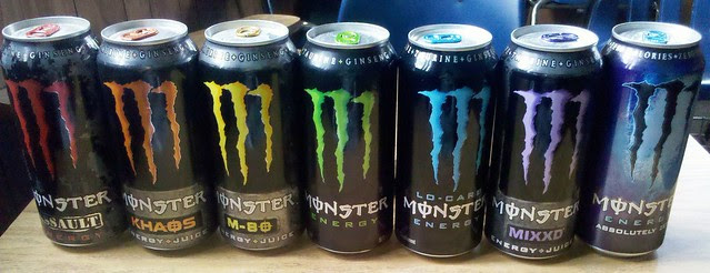 Monster drinks Full