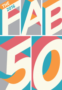 The 2016 Fab 50