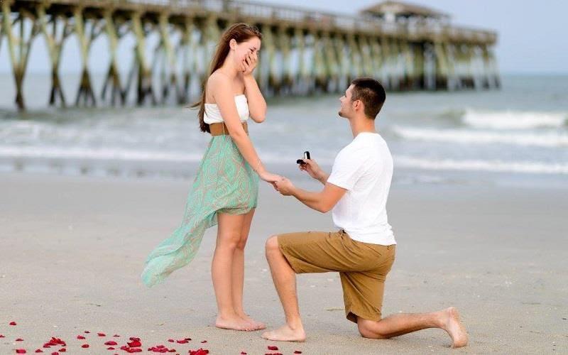 Image result for boy proposing girl