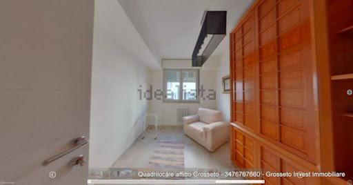 Camera da letto appartamento quadrilocale appartamento Grosseto, via Corridoni angolo Porciatti - Grosseto Invest