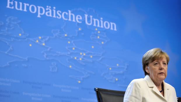 Angela Merkel, le 13/7/15