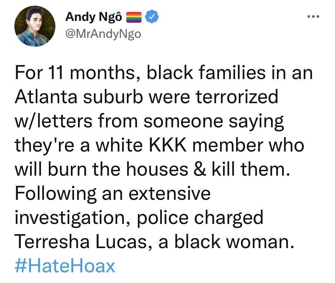 Andy Ngo Tweet