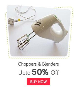 Chopper & Blender Offer